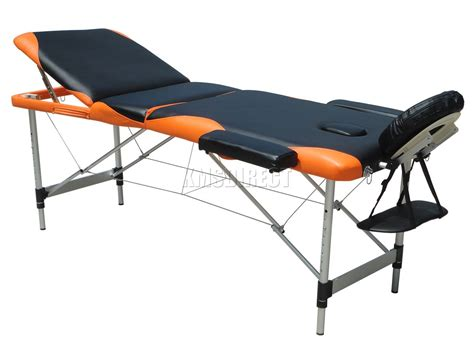 portable folding bed portable folding massage table lightweight 3 section