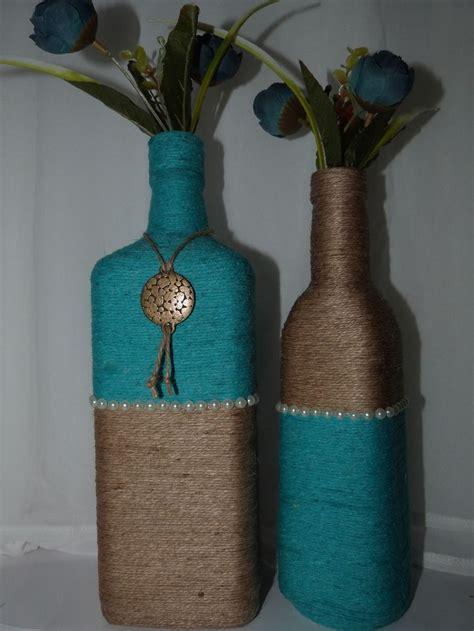 garrafas decoradas home 25 melhores ideias de garrafas decoradas tecidos no