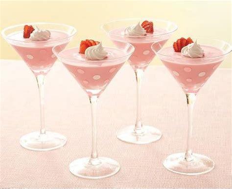 martini dessert polka dot martini glasses pink pink pink