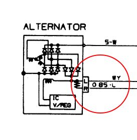 panel wiring diagram of an alternator 37 wiring diagram