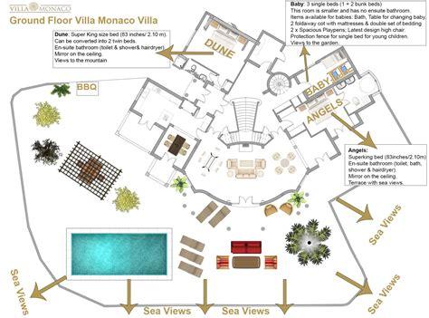 villa siena floor plans villa monaco adeje tenerife luxury holiday rentals sea