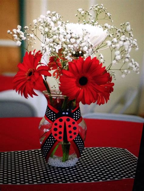 Ladybug Baby Shower Centerpieces best 25 ladybug centerpieces ideas on