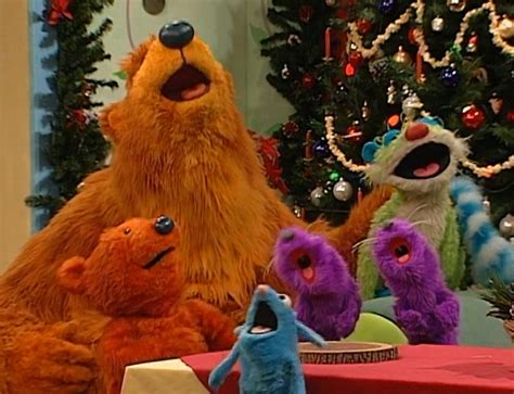bear inthe big blue house christmas a holiday for everyone muppet wiki