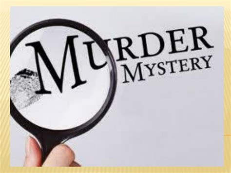 Murder Mystery Reading Lessons By Streetno9 Teaching Resources Tes Murder Mystery Template