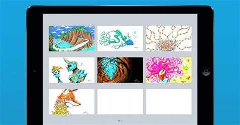 doodle ly doodle ly app adds drafts update for juggling canvases