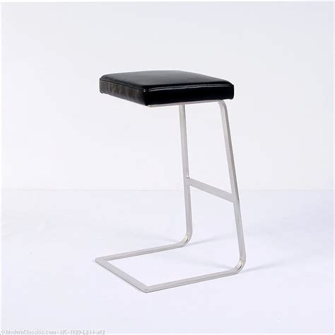 Mies Der Rohe Stool by Mies Der Rohe Four Seasons Bar Stool Modernclassics