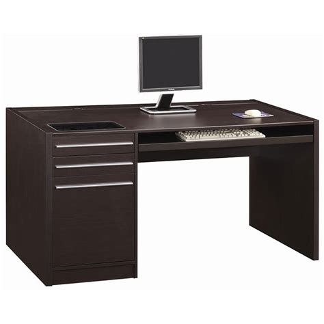 ontario large desk with charging station coaster furniture
