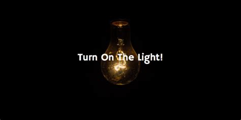 Turn The Lights On by Turn On The Light
