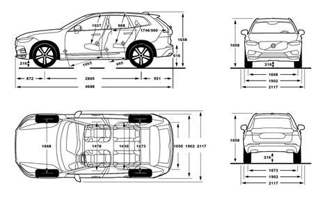 Volvo Xc60 Dimensions by 2017 Volvo Xc60 Dimensions Car Image Idea