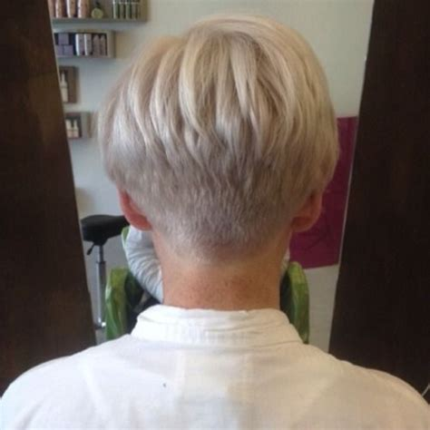 photo gallery of womens hair cut on neck love the back view of this cut short hairstyle