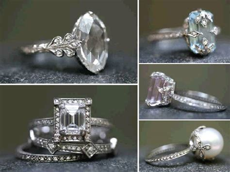 vintage deco wedding rings bits of lovely wedding bands for vintage antique engagement rings