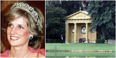 diana burial princess diana grave althorp estate renovation