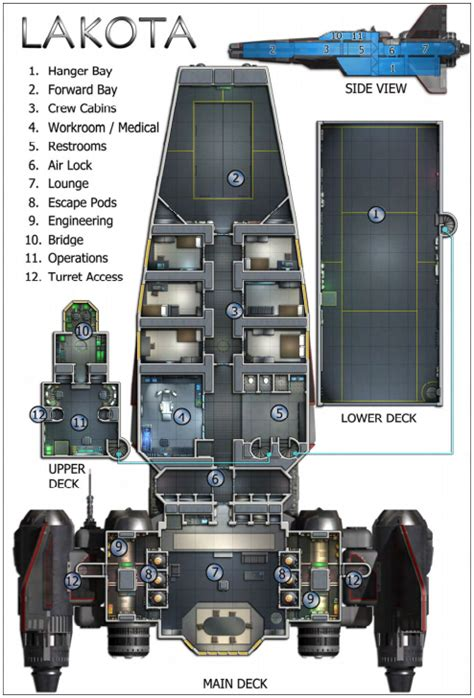 spaceship floor plans 1405978099560 png 494 215 728 reference pinterest sci