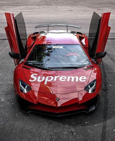 Supreme Louis Vuitton Autofolie by Supreme Drops On Quot Lamborghini