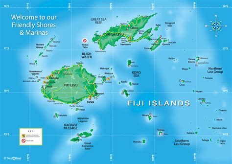 fiji islands map fiji map toursmaps