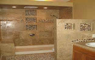 Mosaic Bathroom Floor Tile Ideas Mosaic Pebble Bathroom Floor Tiles How To Tile A Bathroom