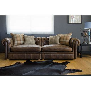 Franklin Leather Grand Sofa By I Love Living Mobiles Leather Sofa And Loveseat Deals