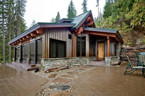 Lake Wenatchee Cabins by Concrete Floored Abode A Cabin On Lake Wenatchee