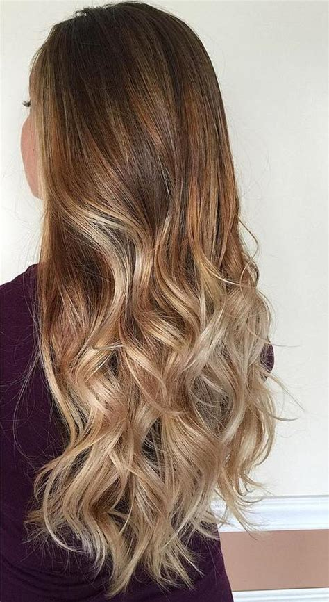 ambre hairstyle on short hair 40 beautiful blonde balayage looks