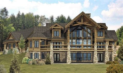 large cabin plans large log cabin homes custom log homes large cabin plans