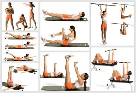 5 ejercicios para definir el abdomen ejercicios en casa