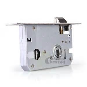 satin nickel lever handle keyed door lock knob bedroom