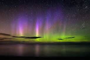 northern lights from solar flare pictures solar triggers auroras