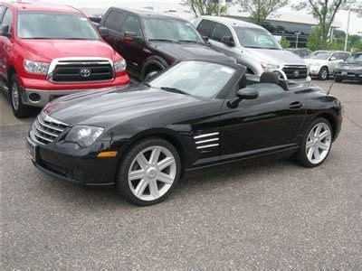 car maintenance manuals 2007 chrysler crossfire on board diagnostic system purchase used 2007 chrysler crossfire roadster 6 speed manual black black 45044 miles in