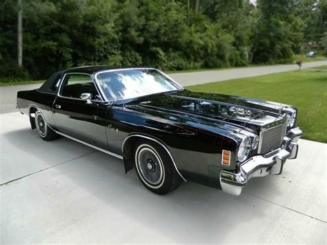 1975 Chrysler Cordoba For Sale by 5 000 Black 1975 Chrysler Cordoba