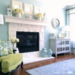 Blue Bathrooms Decor Ideas white stone fireplace does it provide a feasible