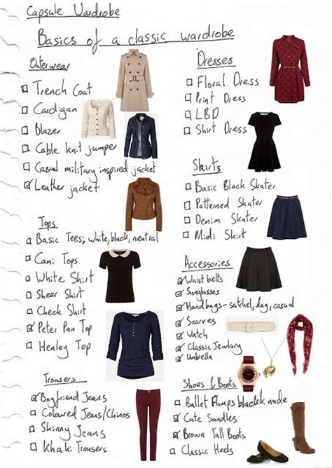 basics of a classic wardrobe wardrobe essentials fashion