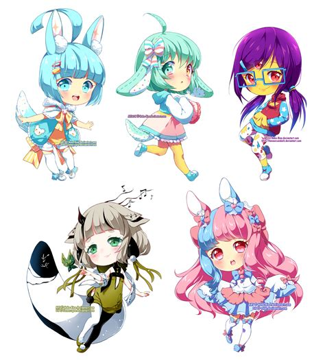 imagenes anime neko chibi chibi batch 03 by neko rina on deviantart