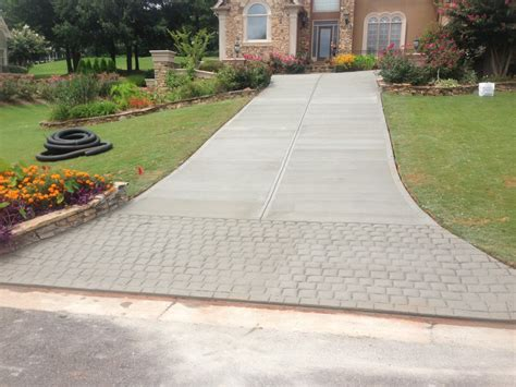 driveway apron 187 decorative driveway aprons