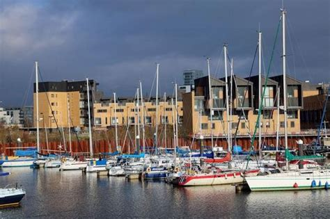 living on a boat cardiff new cardiff bay neighbours fulfill a waterside dream by