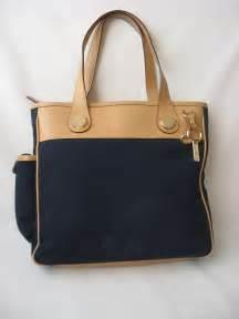 Dooney and bourke handbag tote bag black canvas purse handbags