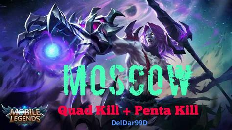 moscow mobile legend mobile legend moscow penta kill build