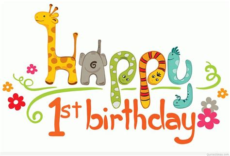1st Happy Birthday Quotes Graphics For One Year Old Birthday Graphics Www