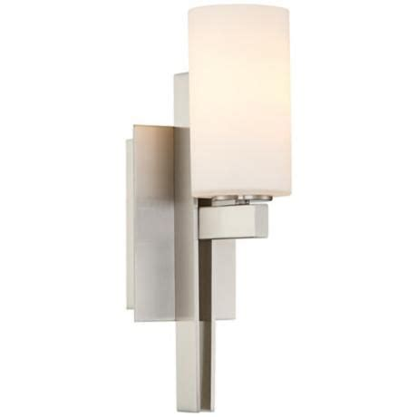 Possini Bathroom Vanity Lighting Possini 14 Quot High Ludlow Brushed Nickel Wall Sconce Tuning Fork Brushed Nickel And Wall