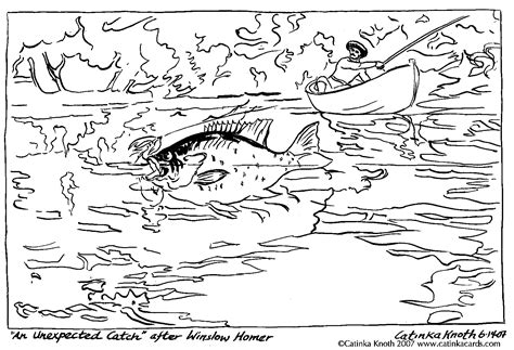 river fish coloring pages c knotes