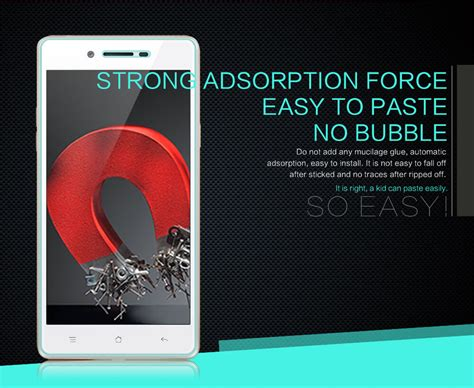Tempered Glass Oppo Neo 7 A33 nillkin amazing h tempered glass screen protector for oppo neo 7 a33