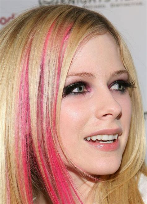 Avril Lavigne And Pink Dont Like by Pink Hair Don T Care Playbuzz