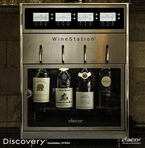 Wine Station In Kitchen by New Appliances Showcase The In Kitchen Innovation