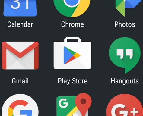 mobile play store created a new icon for playstore app on android