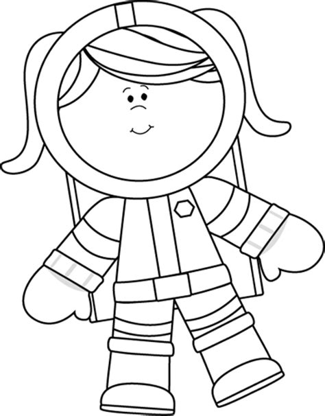astronaut outline page 3 pics about space