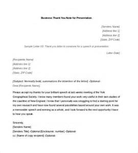 business thank you note 7 free word excel pdf format