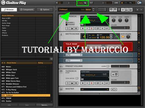 tutorial guitar rig 4 tutorial quitar ruido molesto en guitar rig taringa