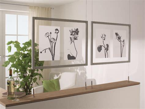 gardinen mit draht aufhangen schwebende bilder selber machen heimwerkermagazin