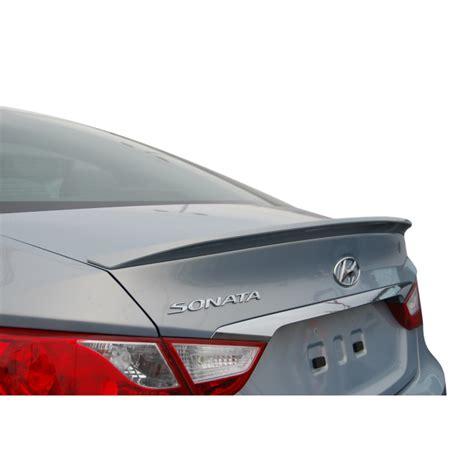 Hyundai Sonata Spoiler by 2012 2013 Hyundai Sonata Lip Spoiler 99 Painted Spoiler