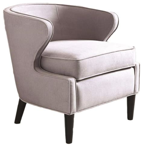 barrel accent chair cover lucca barrel accent chair gray contemporary armchairs