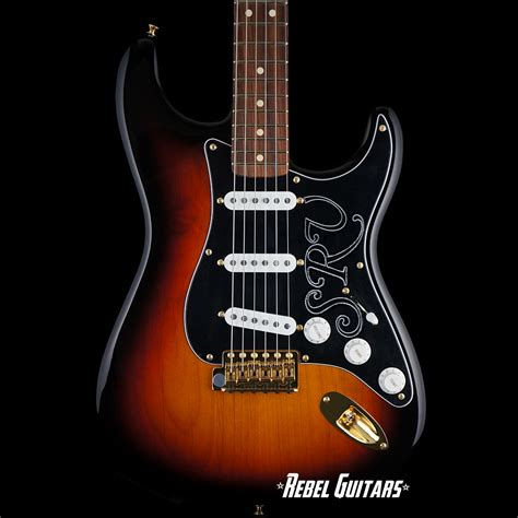 fender stevie ray vaughan stratocaster rebel guitars